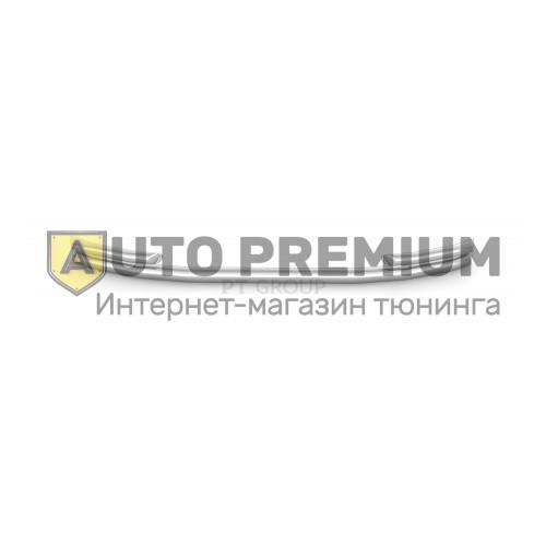 Защита переднего бампера двойная с углами Ø63/51 мм (НПС) УАЗ Патриот с 2014